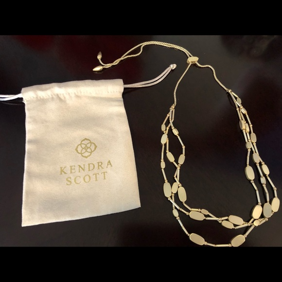 Kendra Scott - Channing Multi Strand Necklace Gold